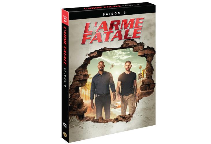 DVD de la saison 3 de L'Arme Fatale avec Damon Wayans et Seann William Scott