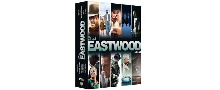 Coffret Noël 2019 : 10 films Eastwood.