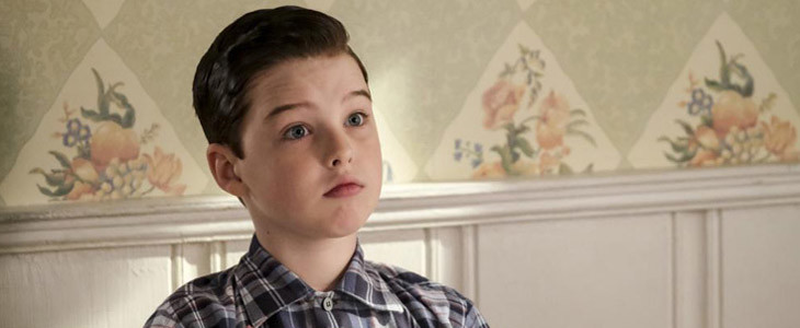 Iain Armitage dans Young Sheldon