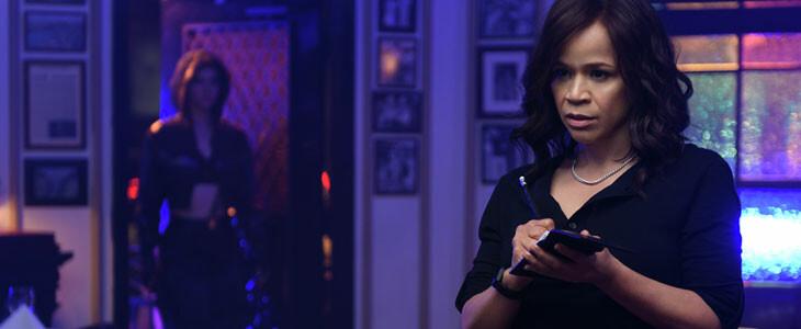 Rosie Perez est Renee Montoya dans Birds of Prey.