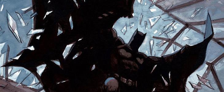 Le costume de Batman est délibérément effrayant