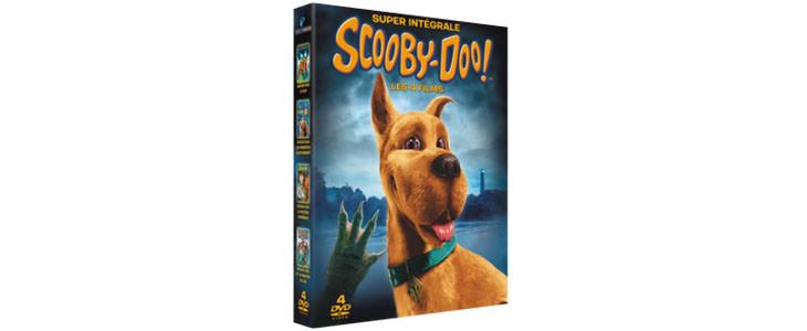 Coffret Scooby-Doo! 4 Films