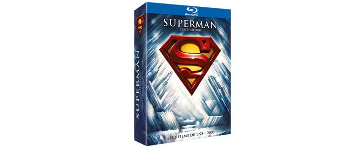 Intégrale films Superman - Coffret Noel