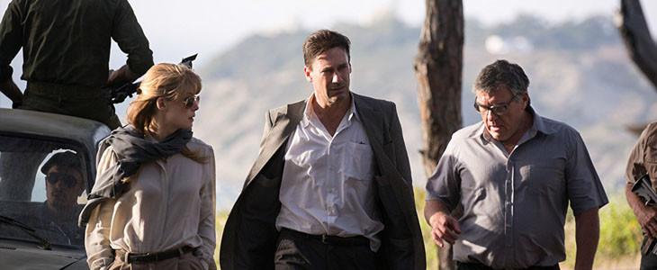 Rosamund Pike, Jon Hamm et Dean Norris dans Opération Beyrouth
