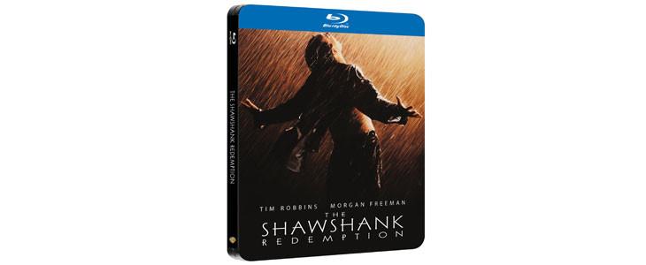 Les Évadés en Blu-Ray Steelbook.