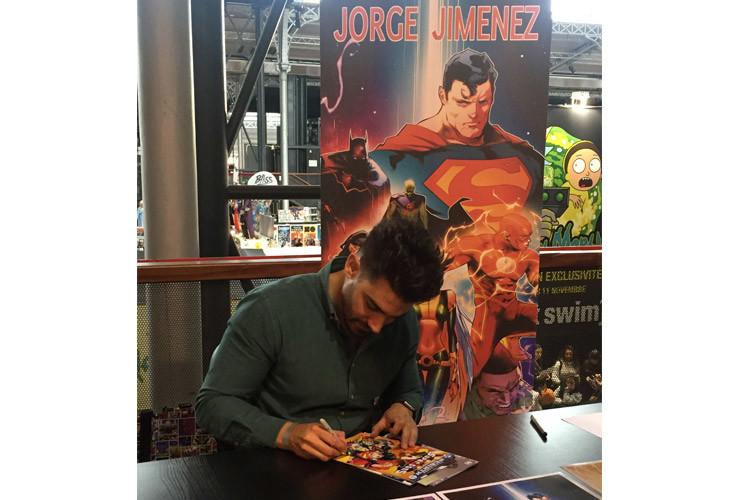 Le dessinateur Jorge Jimenez au Comic Con Paris 2019