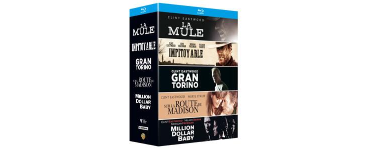 Coffret Noël 2019 : 5 films Eastwood.