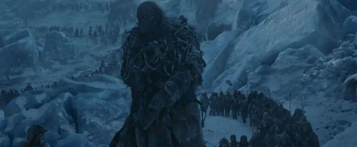 Game of Thrones - Marcheurs Blancs
