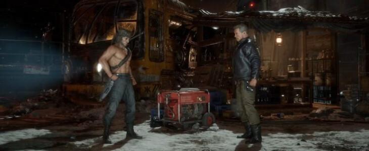 Mortal KOmbat 11 Ultimate affrontre Rambo et Terminator.