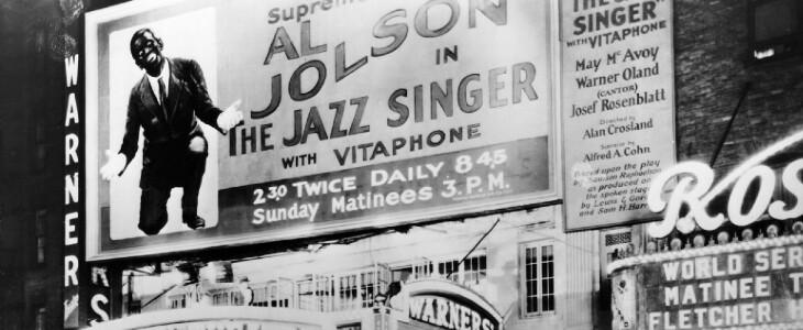 Le Chanteur de Jazz.