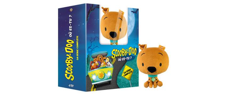 Le coffret Scooby-Doo, où es-tu ? + Peluche