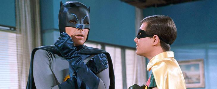 Batman et Robin dans la série télévisée Batman