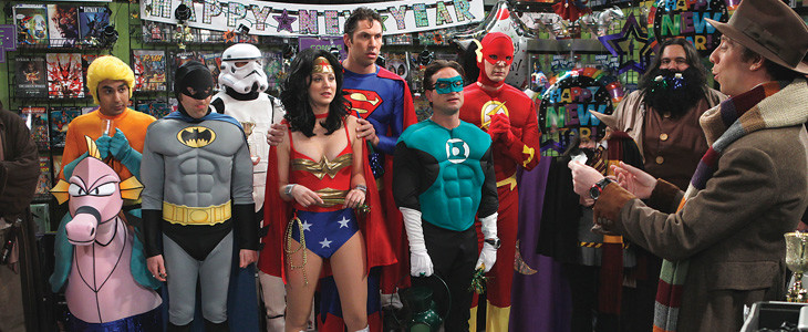 Justice League - The Big Bang Theory