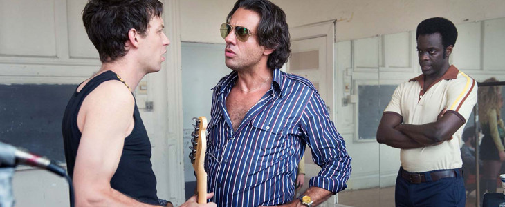 James Jagger, Bobby Cannavale et Ato Essandoh dans Vinyl