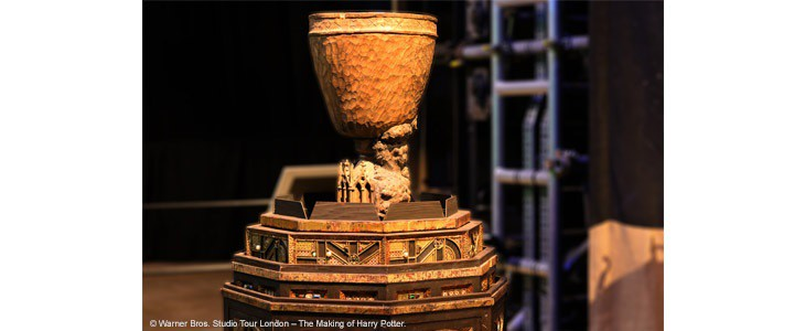 La Coupe de feu au Studio Tour Harry Potter