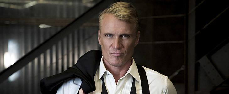 Dolph Lundgren alias Konstantin Kovar dans la saison 5 d'Arrow