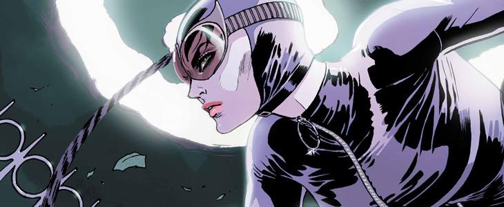 Selina Kyle dans le costume de Catwoman