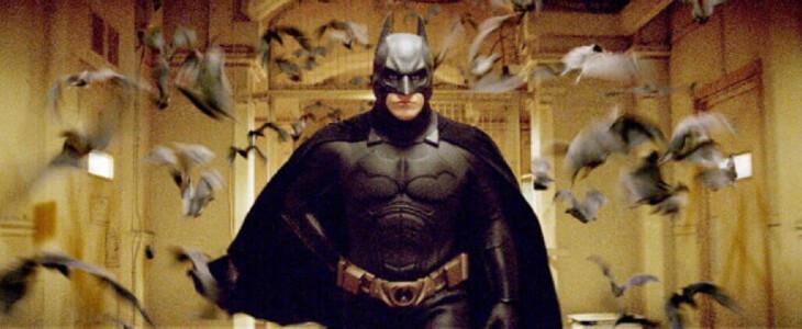 Batman Begins, de Christopher Nolan, sorti en 2005