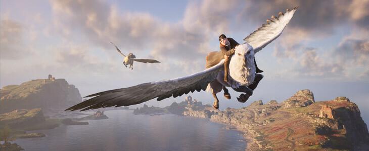 Devenez un sorcier dans le jeu vidéo Hogwarts Legacy: L'Héritage de Poudlard !