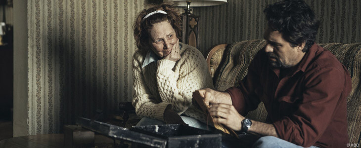 Melissa Leo et Mark Ruffalo dans I Know This Much Is True