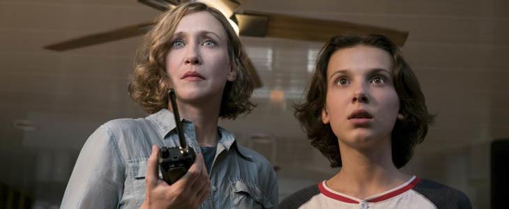 Godzilla II - Vera Farmiga et Millie Bobby Brown