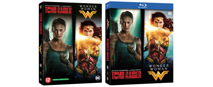 Coffret Noel Tomb Raider Wonder Woman