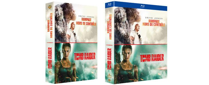 Coffret Noel Rampage Tomb Raider