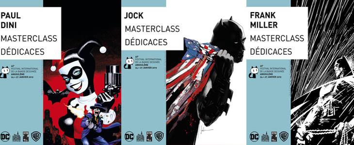 Les évènements consacrés à Batman au Festival d'Angoulême