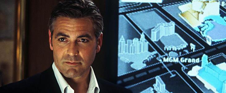 George Clooney dans Ocean's Eleven