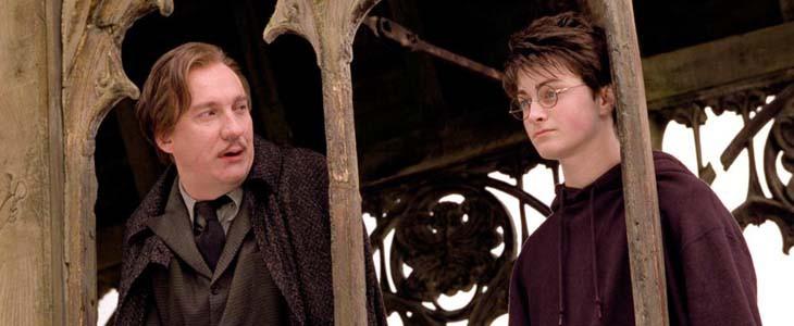 David Thewlis et Daniel Radcliffe dans Harry Potter et le Prisonnier d'Azkaban