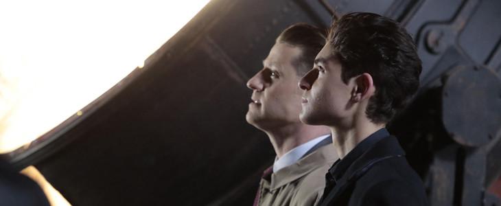 Bruce Wayne et Gordon