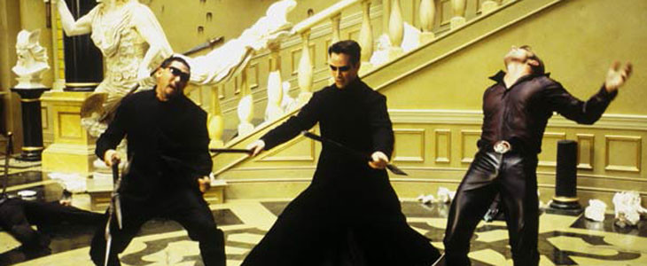 Bullet time dans Matrix