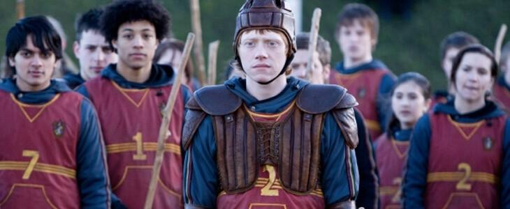Rupert Grint dans Harry Potter et le Prince de Sang-Mêlé