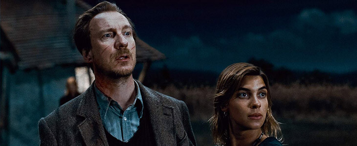 David Thewlis et Natalia Tena dans Harry Potter et les Reliques de la Mort