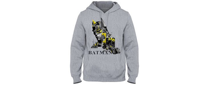 Sweatshirt Batman 80 ans