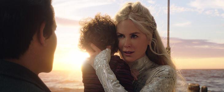 Altanna avec son enfant Aquaman
