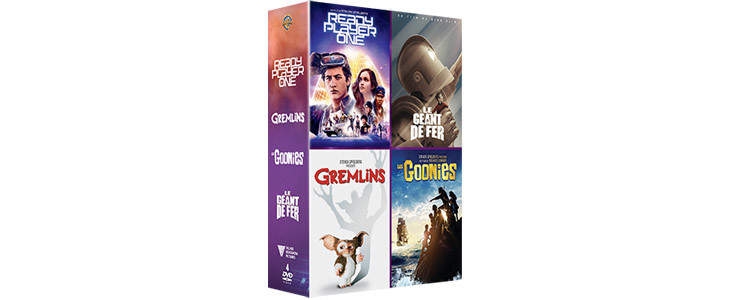 Coffret Ready Player One 4 films