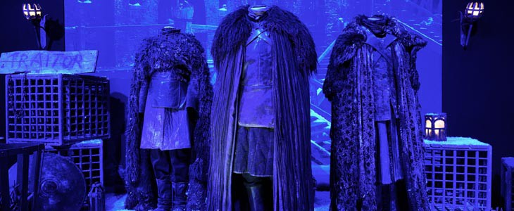 Costumes de l'exposition Game of Thrones : The Touring Exhibition