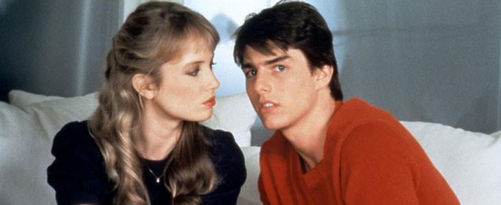 Rebecca de Mornay et Tom Cruise dans Risky Business
