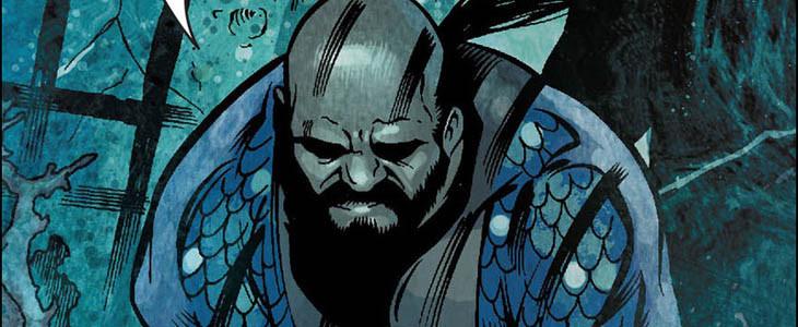 Vulko le conseiller d'Aquaman dans les comics