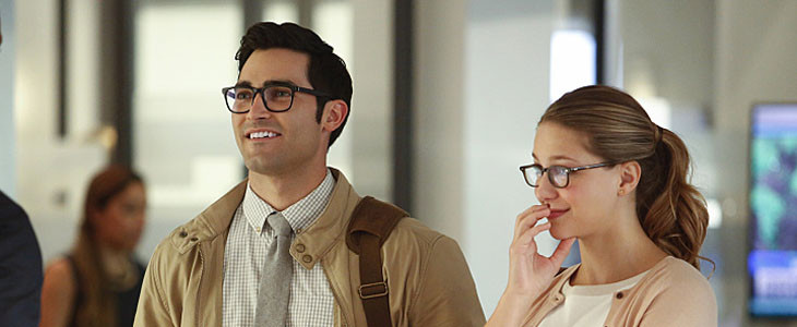 Tyler Hoechlin et Melissa Besnoit - Superman