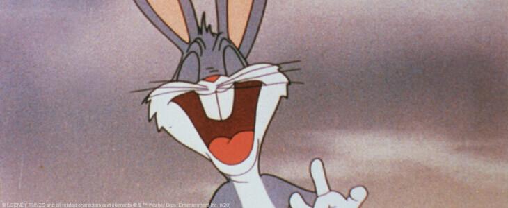Bugs Bunny, le célèbre lapin des Looney Tunes