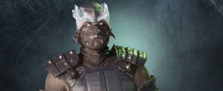 Sub-Zero : Roi du Blizzard dans le pack veille de la Toussaint de Mortal KOmbat 11 : Aftermath.