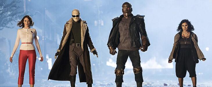 Les membres de l'équipe Doom Patrol