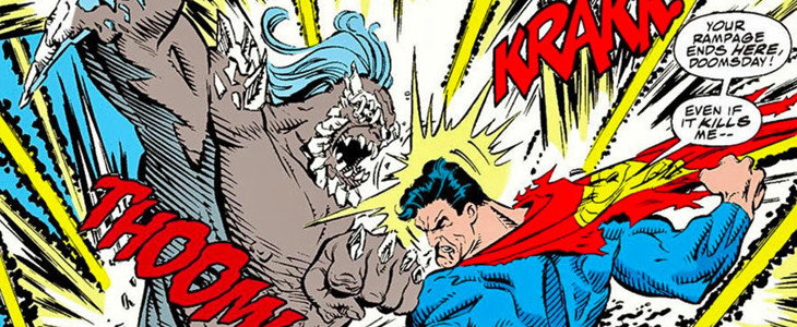 Doomsday face à Superman