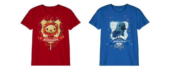 Les adorables t-shirt chibi pour enfants sont disponibles sur la boutique officielle.