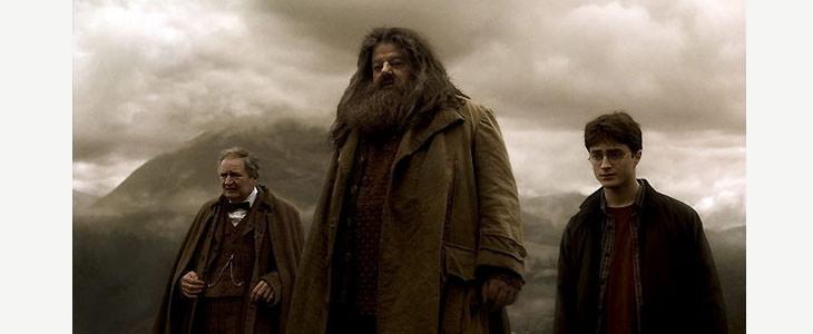 Hagrid et Harry Potter