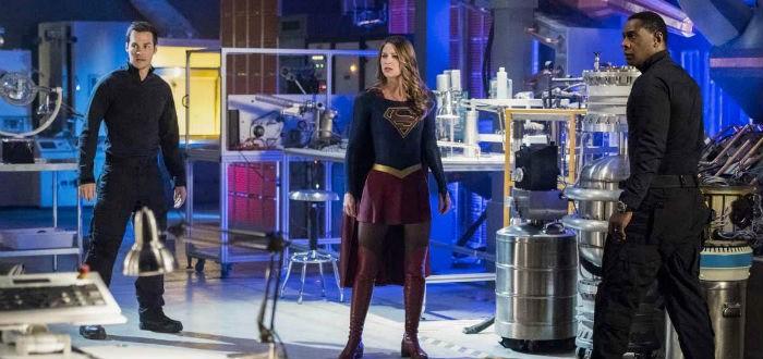 Les locaux du DEO dans Supergirl
