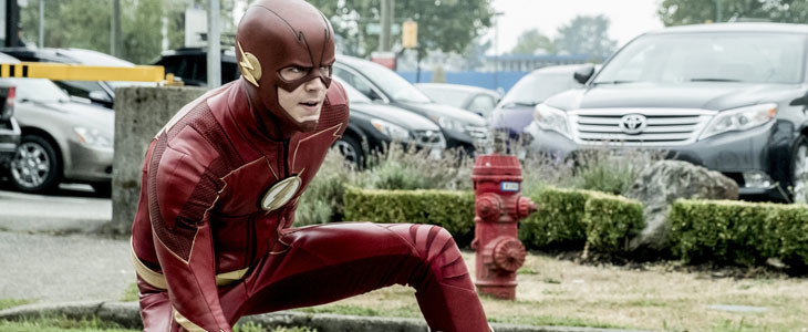 Grant Gustin dans The Flash