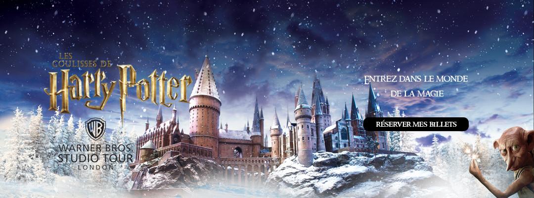 L'événement Poudlard sous la neige est lancé au Studio Tour Harry Potter à Londres